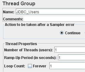 Thread group