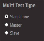 Multi test type:standalone